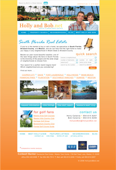 Riverside House Sample Home Page